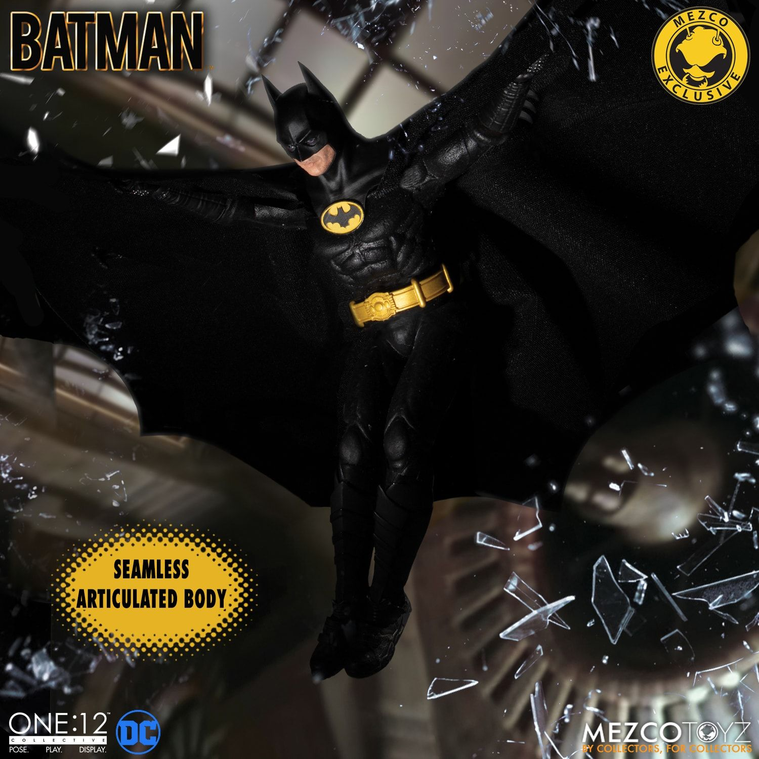 Pre Orders Begin January 15th For The One 12 Collective Batman 1989 Figure The Toyark News