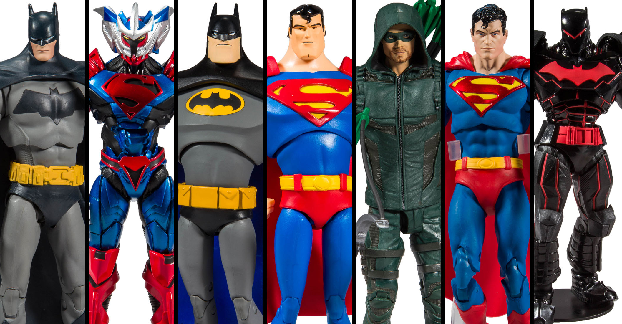 DC MULTIVERSE ANIMATED WAVE 1 SUPERMAN MCFARLANE TOYS IN STOCK NOW
