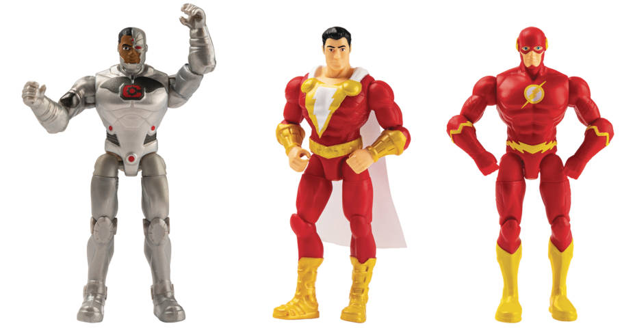 DC UNIVERSE 4 INCH ACTION FIGURE ASSORTMENT