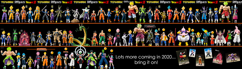 Every S.H. Figuarts Dragon Ball Figure Through 2019