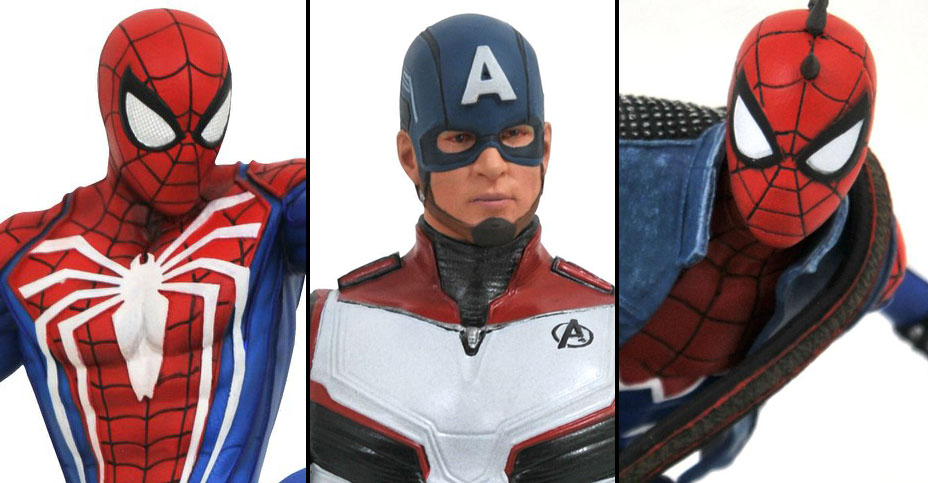 GameStop Marvel PCS Statues