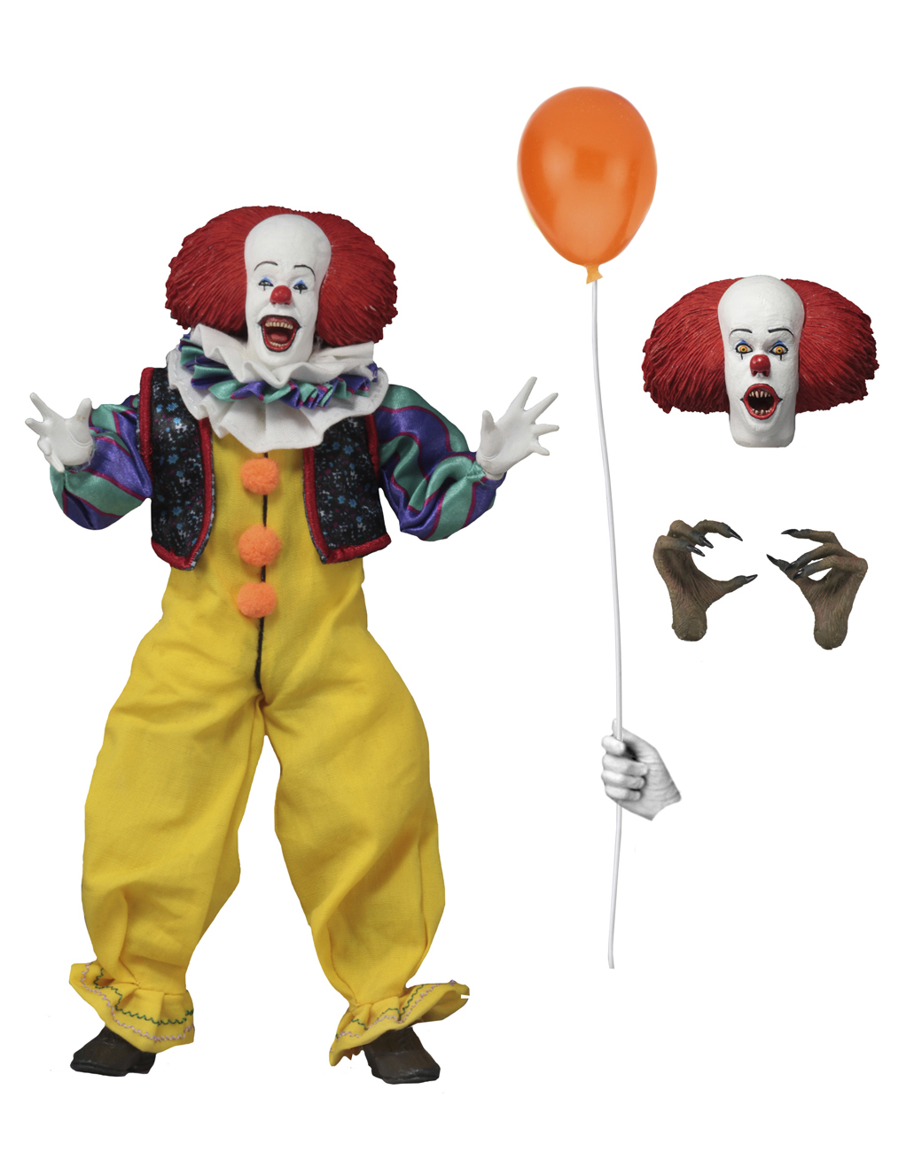 IT 1990 Pennywise 8 Inch Released 003