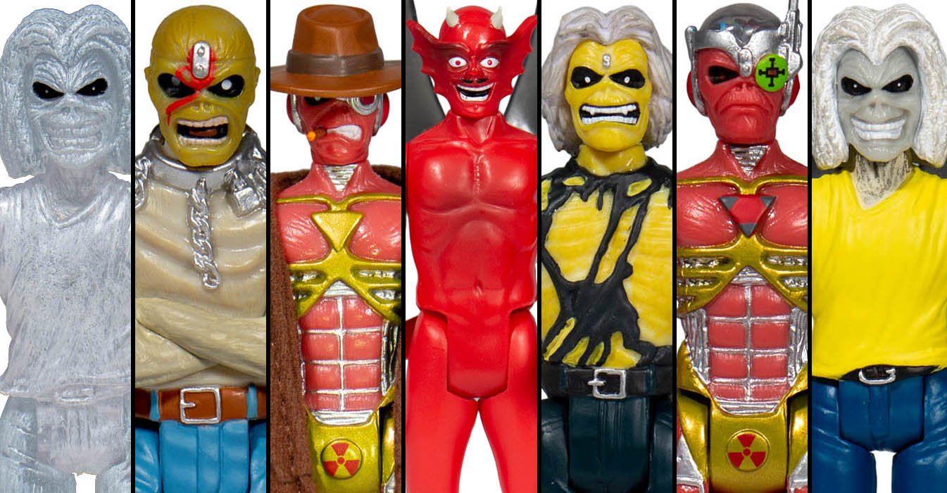 Iron Maiden Wave 2 ReAction Figures 015