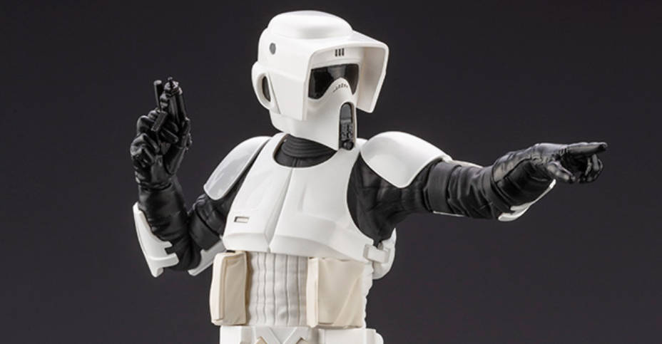 Koto Scout Trooper Statue 006