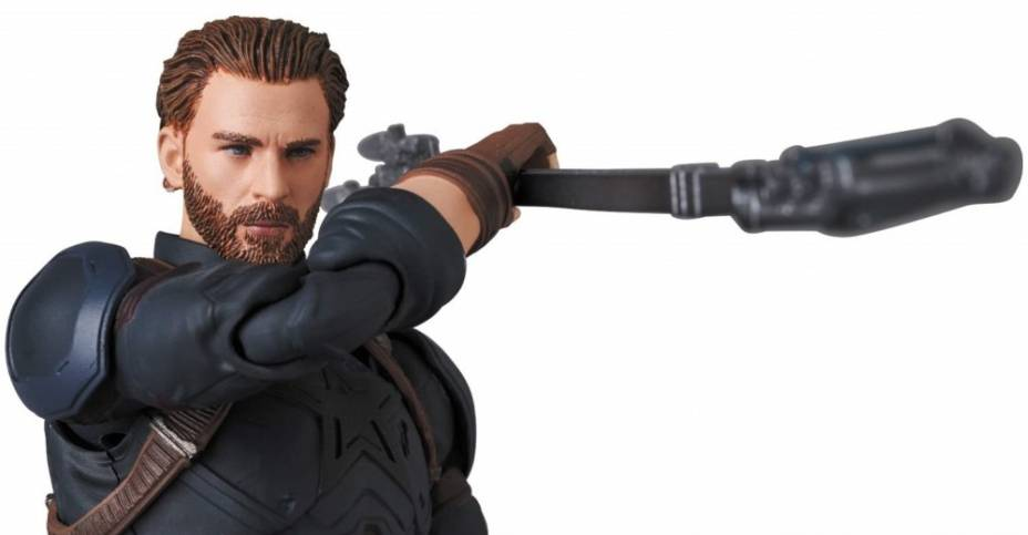 MAFEX Infinity War Captain America 009