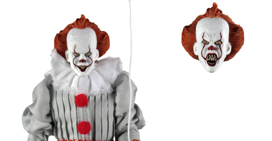 NECA Retro Pennywise 2017 Released 004