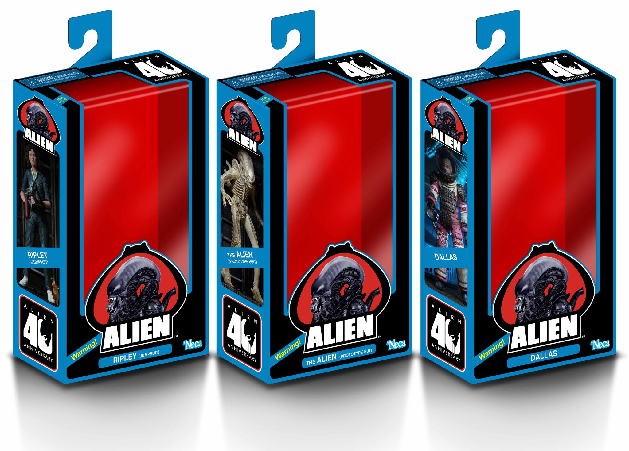 NECA alien 40th Teaser 2