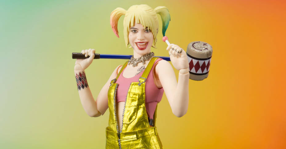 SH Figuarts Birds of Prey Harley Quinn 001