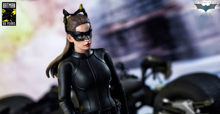 Catwoman Batman The Dark Knight Rises Movie 6 Inch Action Figure Anne Hathaway