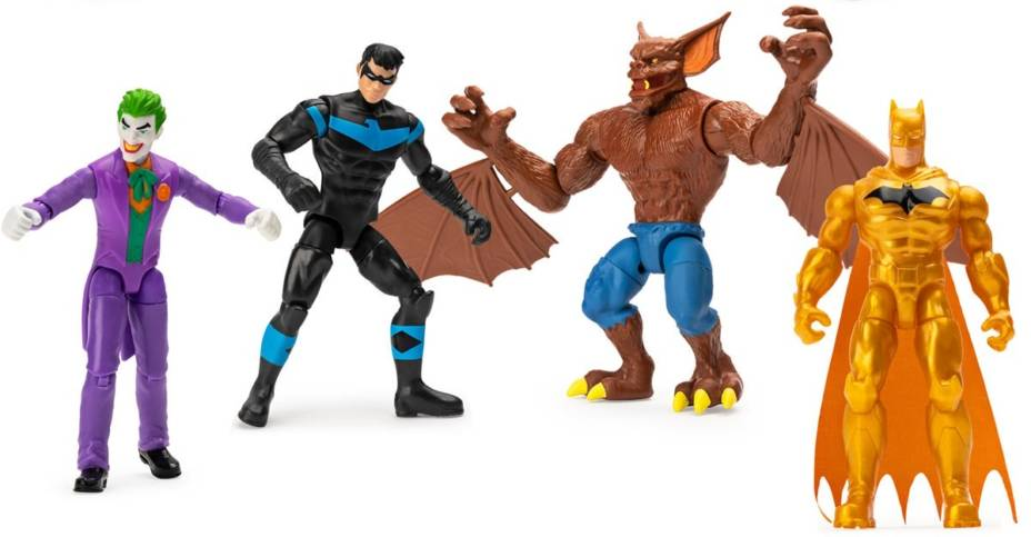 Spin Master DC Batman 4 Inch Figures 001