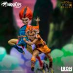 Thundercats Wily Kit and Wily Kat Statue 002