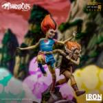 Thundercats Wily Kit and Wily Kat Statue 003