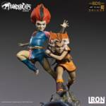 Thundercats Wily Kit and Wily Kat Statue 010