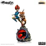 Thundercats Wily Kit and Wily Kat Statue 016