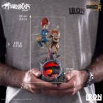 Thundercats Wily Kit and Wily Kat Statue 017