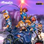 Thundercats Wily Kit and Wily Kat Statue 018