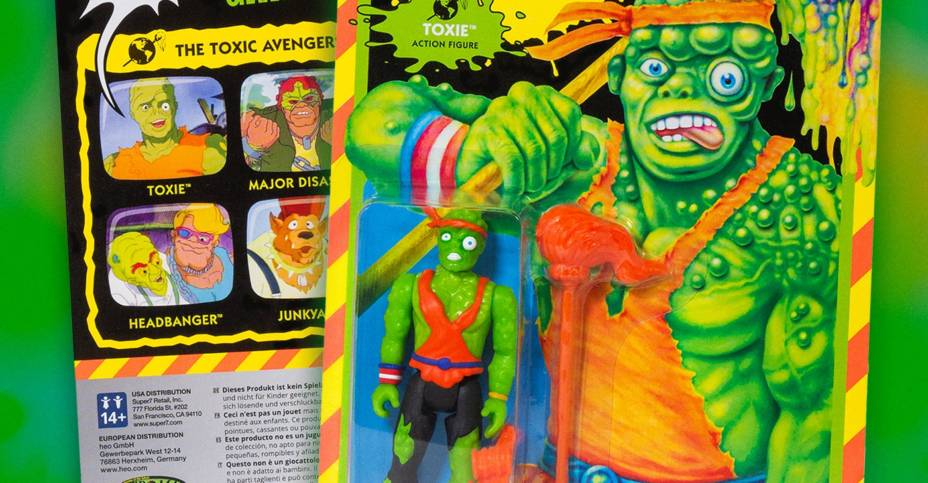 Toxic Crusaders ReAction Figures 001