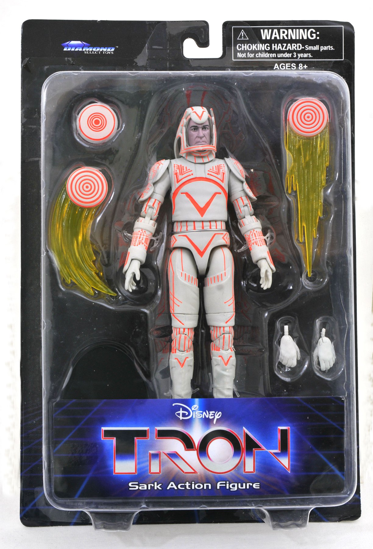 Tron Series 1 Packaging Sark
