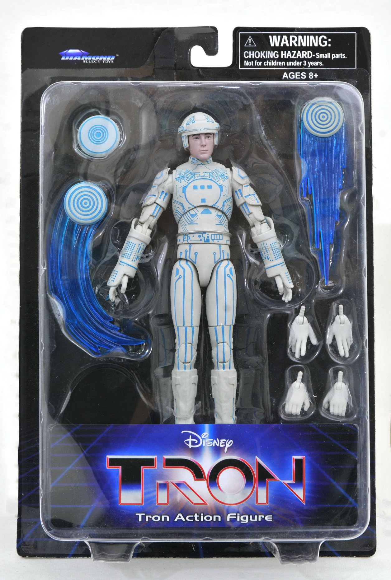 Tron Series 1 Packaging Tron