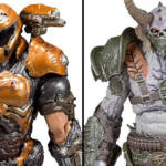 Doom Eternal Doom Slayer Phobos Armor And Marauder Figures By
