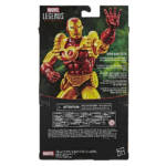 E87085L00 Marvel Legends Iron Man 2020 main back of pack
