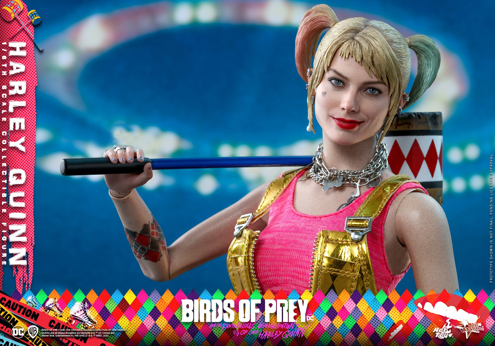 Hot Toys Birds of Prey Harley Quinn 015