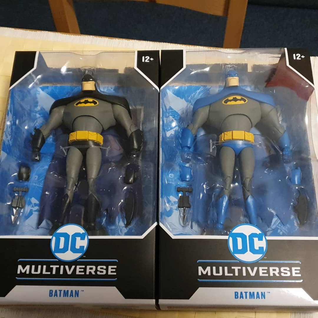 McFarlane Batman Animated Series Chase Variant