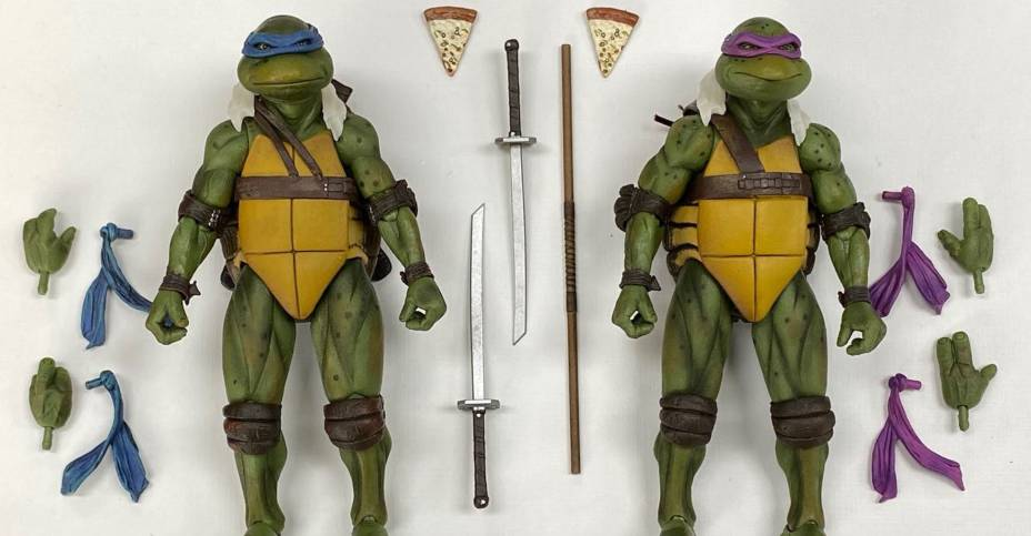 NECA TMNT Movie Preview 1