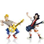 NECA Toony Bill and Ted 001