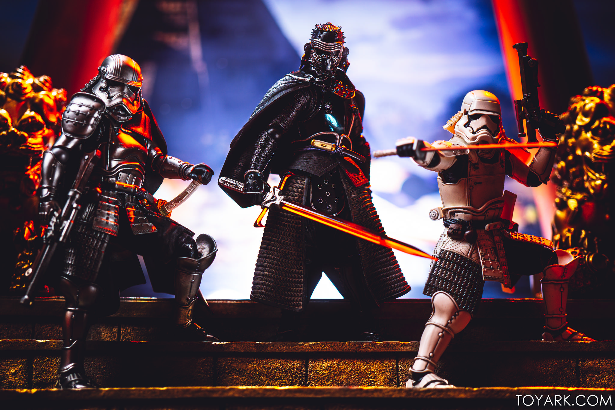 Star Wars Movie Realization St Gallery Kylo Ren Captain Phasma And First Order Trooper The Toyark News