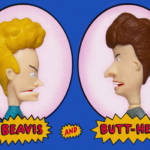 S7 Beavis and Butthead ReAction Figures