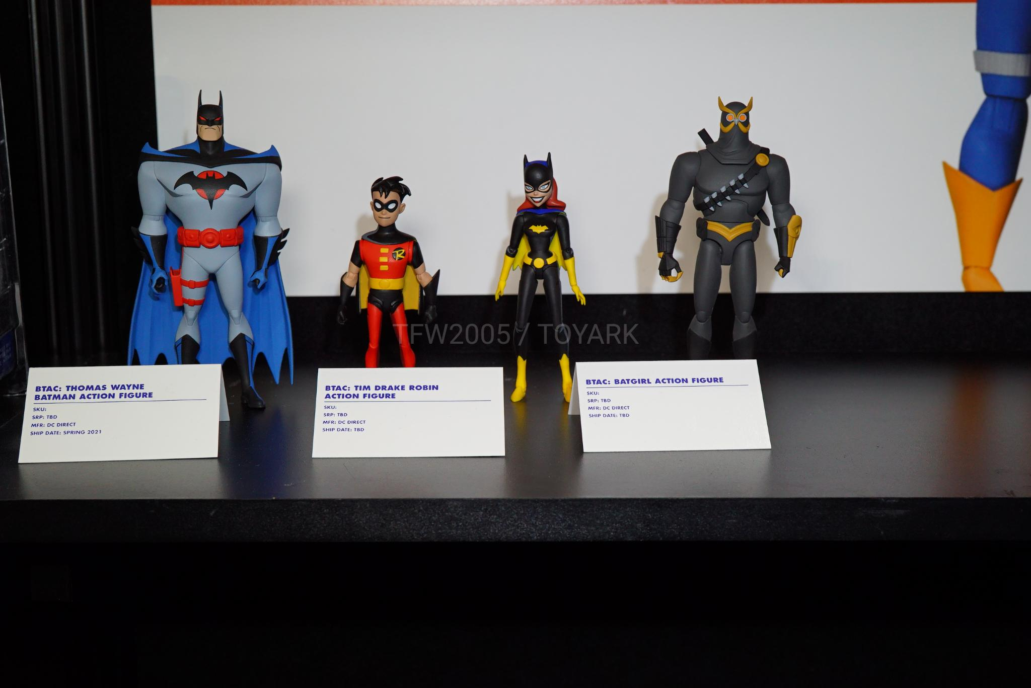 DC Comics Collectibles Batman The Animated Series BATGIRL Action Figure n.41