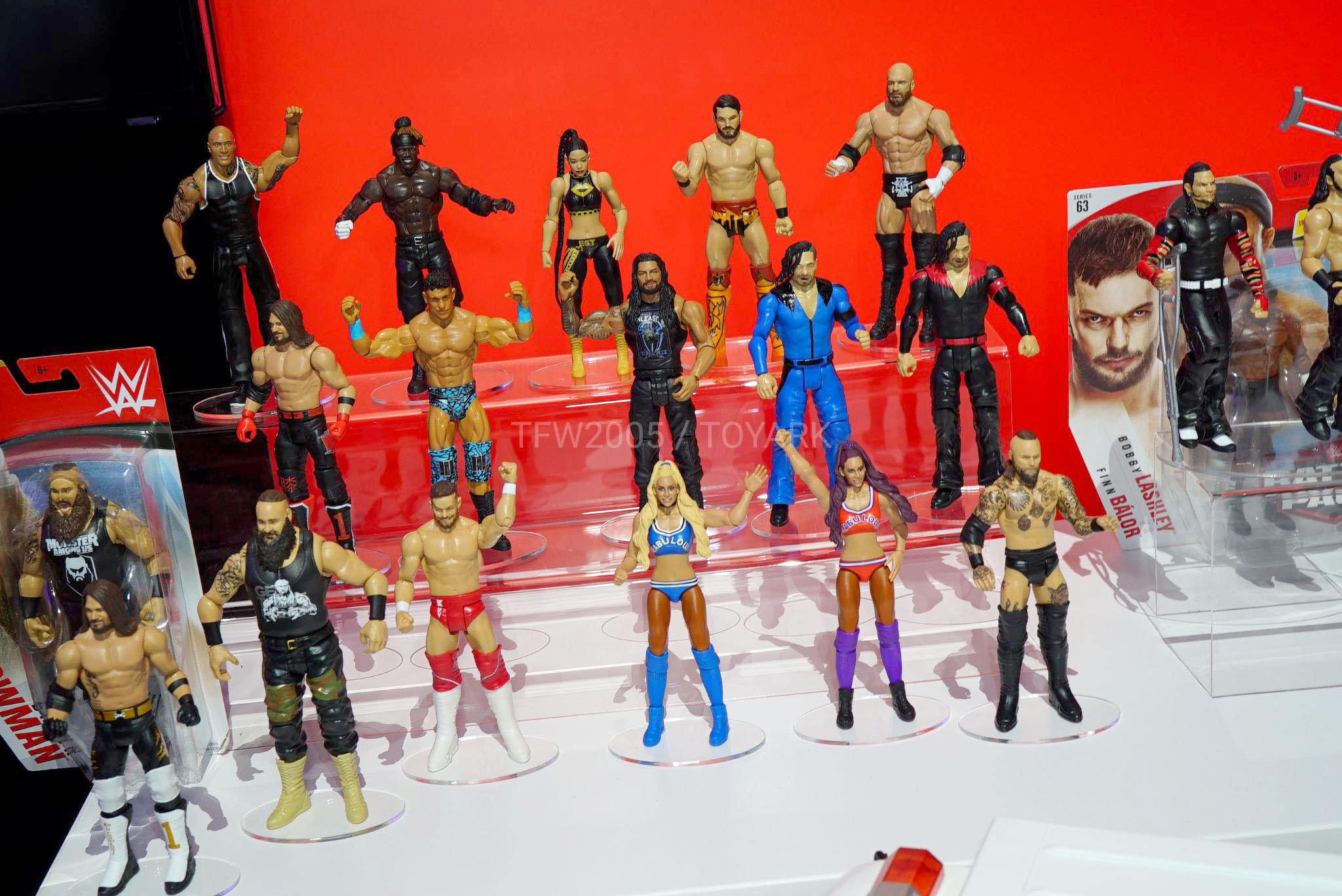 Toy Fair 2020 Mattel WWE 051