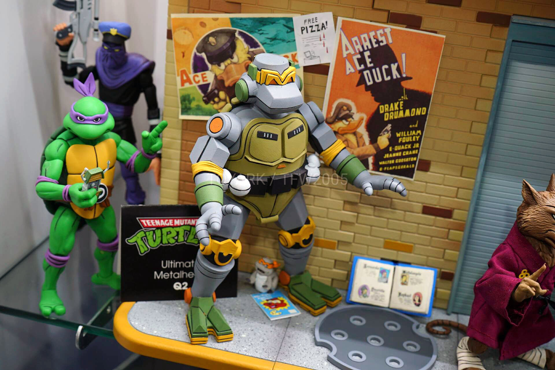 Toy Fair 2020 Neca Teenage Mutant Ninja Turtles Secret Of The Ooze Cartoon And Game Figures The Toyark News