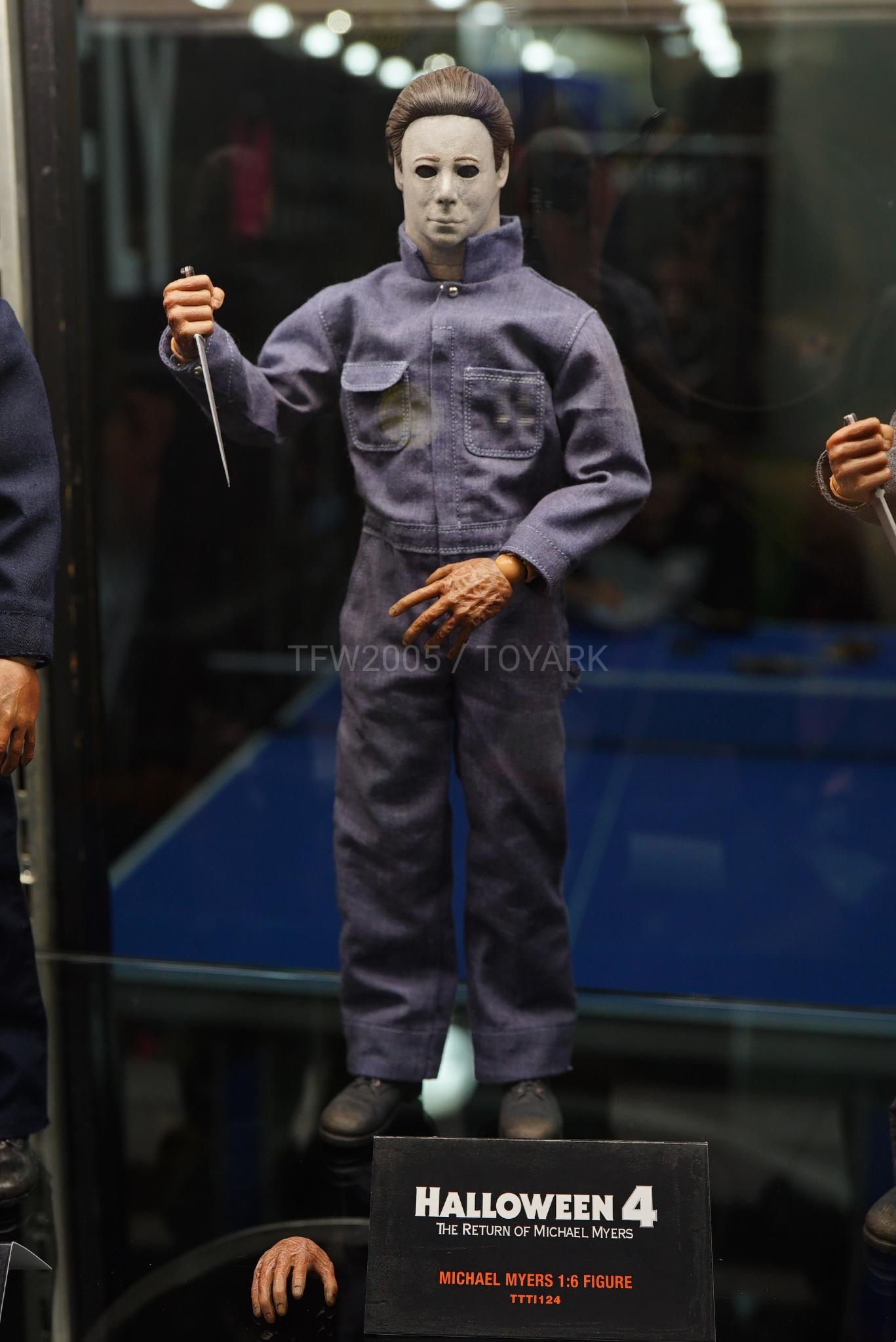 2020 Halloween Michael Myers Figure Toy Fair 2020   Trick or Treat Studios 1/6 Scale Figures, Busts