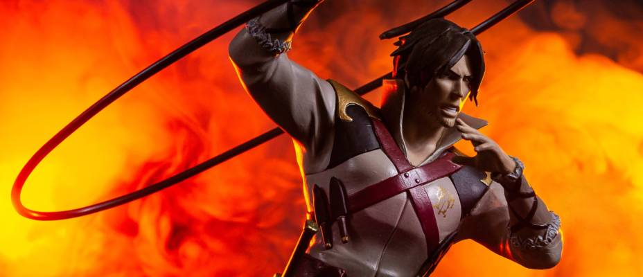 Casltevania - Trevor Belmont Statue by Diamond Select Toys - Toyark Photo Shoot