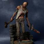 Gecco Dead by Daylight Hillbilly Statue 002