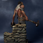 Gecco Dead by Daylight Hillbilly Statue 005