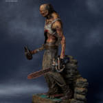 Gecco Dead by Daylight Hillbilly Statue 008
