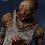 Gecco Dead by Daylight Hillbilly Statue 010