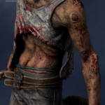 Gecco Dead by Daylight Hillbilly Statue 011