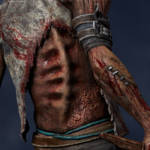 Gecco Dead by Daylight Hillbilly Statue 015