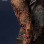 Gecco Dead by Daylight Hillbilly Statue 016