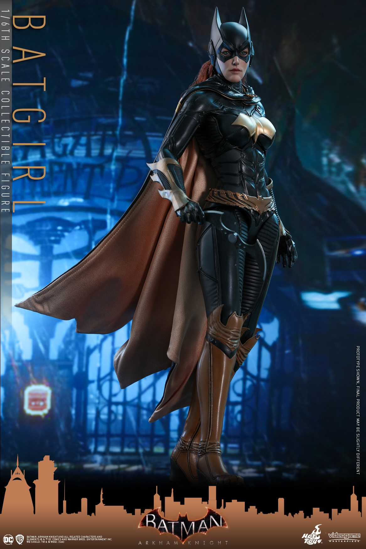 Échelle 1//6 Batman Arkham Knight figure stand