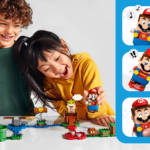 LEGO Super Mario kids and interactions