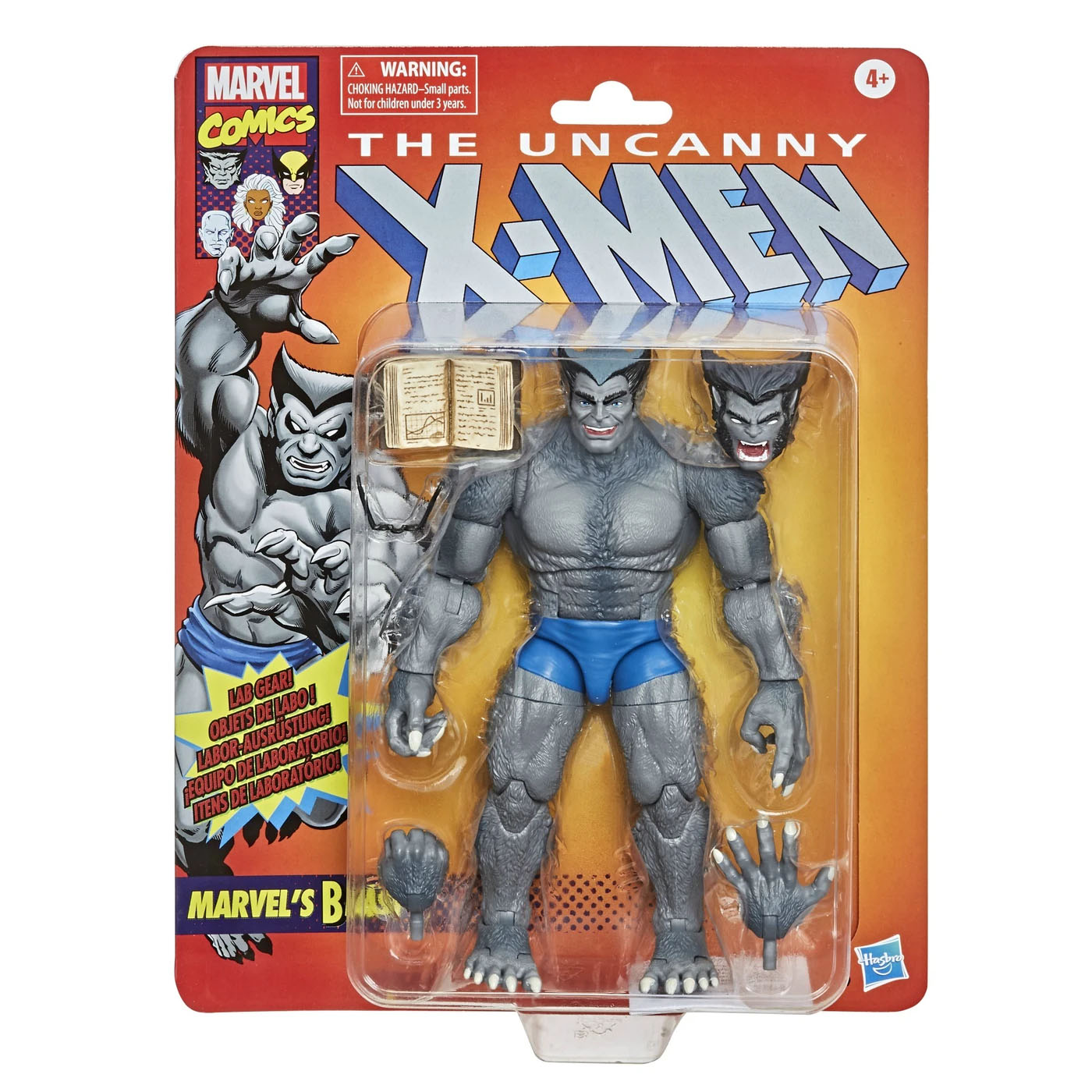 Marvel Vintage Legends Beast 002
