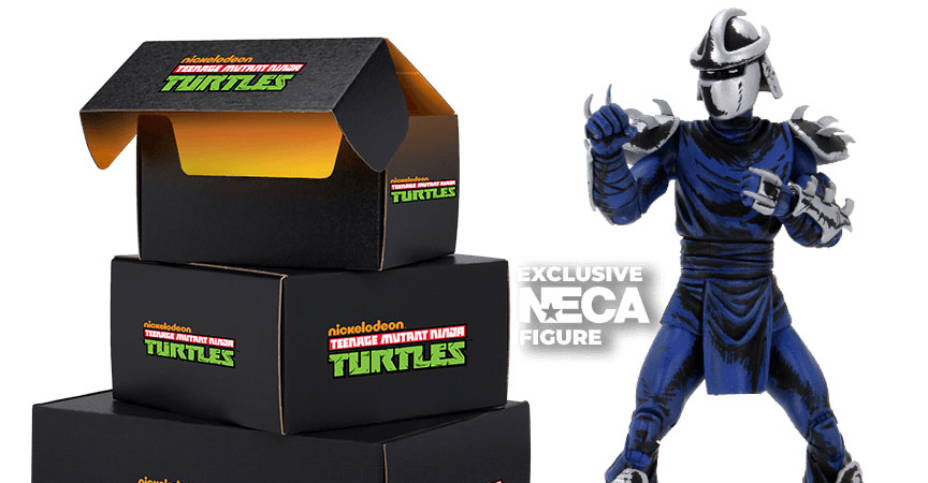 NECA Loot Crate TMNT Exclusives 001