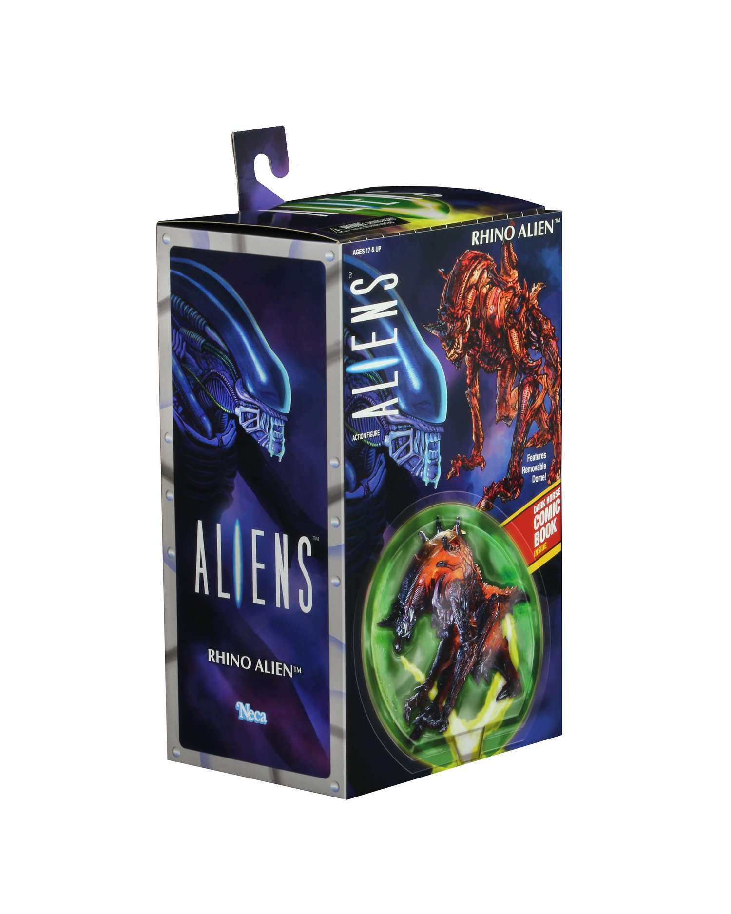 NECA Rhino Alien Packaging 001
