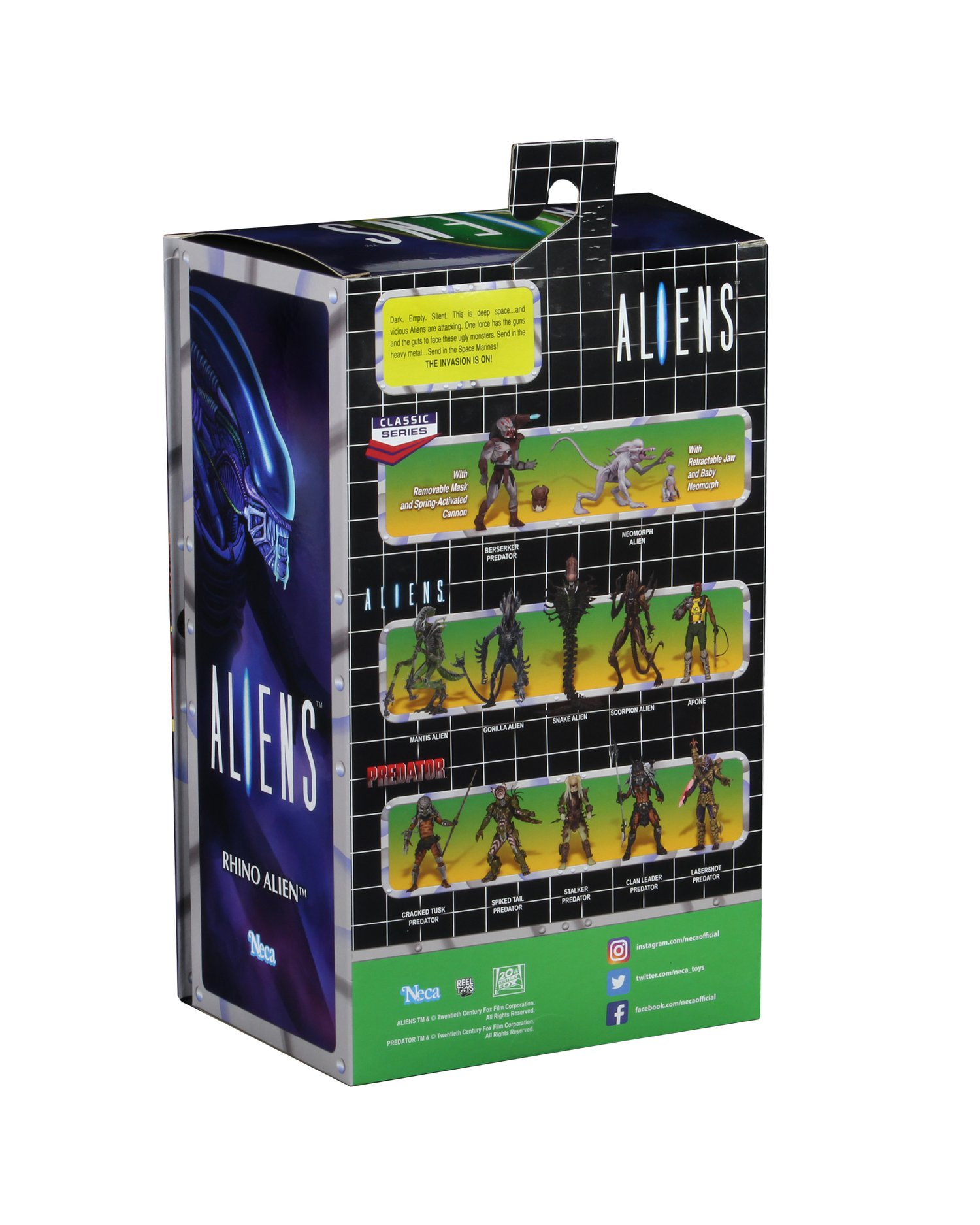 NECA Rhino Alien Packaging 002