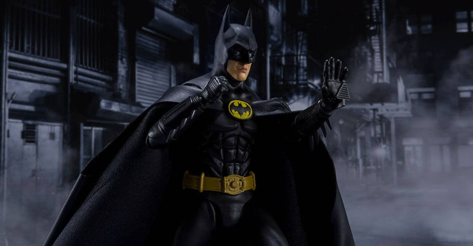 FIGUARTS BATMAN 1989 BANDAI TAMASHII NATIONS S.H